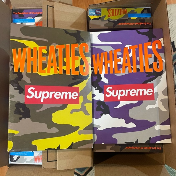 Supreme Wheaties x 2 * In hand* each color